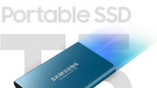 Samsung Portable USB 3.1 External Solid State (SSD) Drive T5 500GB at the lowest price in Pakistan
