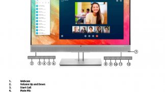 HP Elite LED Display E273M 27 inch IPS