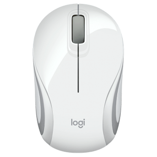 Logitech M187 Ultra Portable Wireless Mouse white