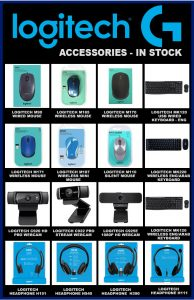 Logitech computer accessories lowest price in Pakistan - Logitech accessories in stock