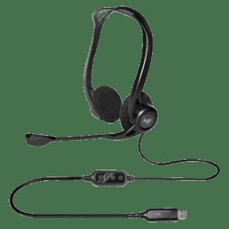 Logitech h370e usb headset