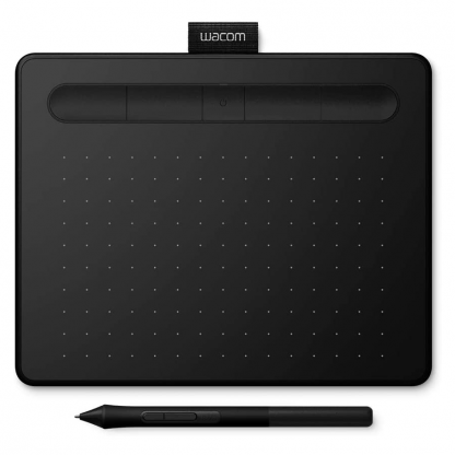 Wacom Intuos S CTL4100K-N Pen Tablet, Mobile Graphic Tablet for Painting, Sketching and Photo Retouching