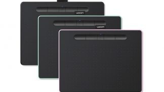 Wacom Intuos CTL4100WLE-N Pen Tablet, Mobile Graphic Tablet for Painting, Sketching and Photo Retouching